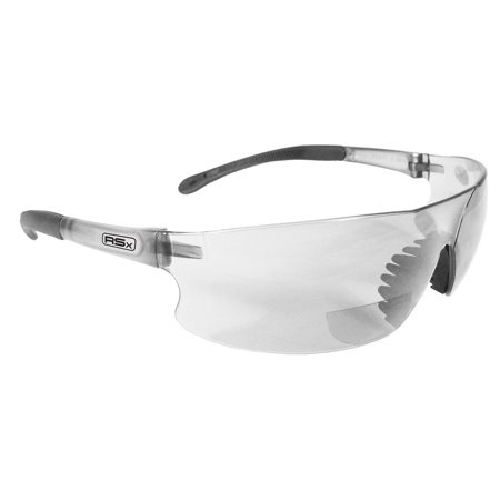 RSB-125 Rad-Sequel RSx Lightweight Bi-Focal Glasses with Clear Polycarbonate Lens, Rad-Sequel RSx lightweight bi-focal glasses with cushioned, non-slip rubber tipped.., By (Best Way To Clean Polycarbonate Lenses)