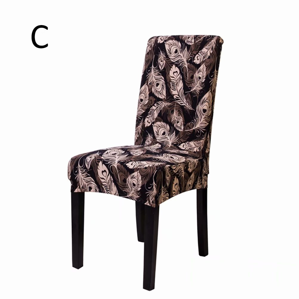 Dining Room Chair Cushion Covers: Akoyovwerve Elastic Short Decorative Slipcovers Chair