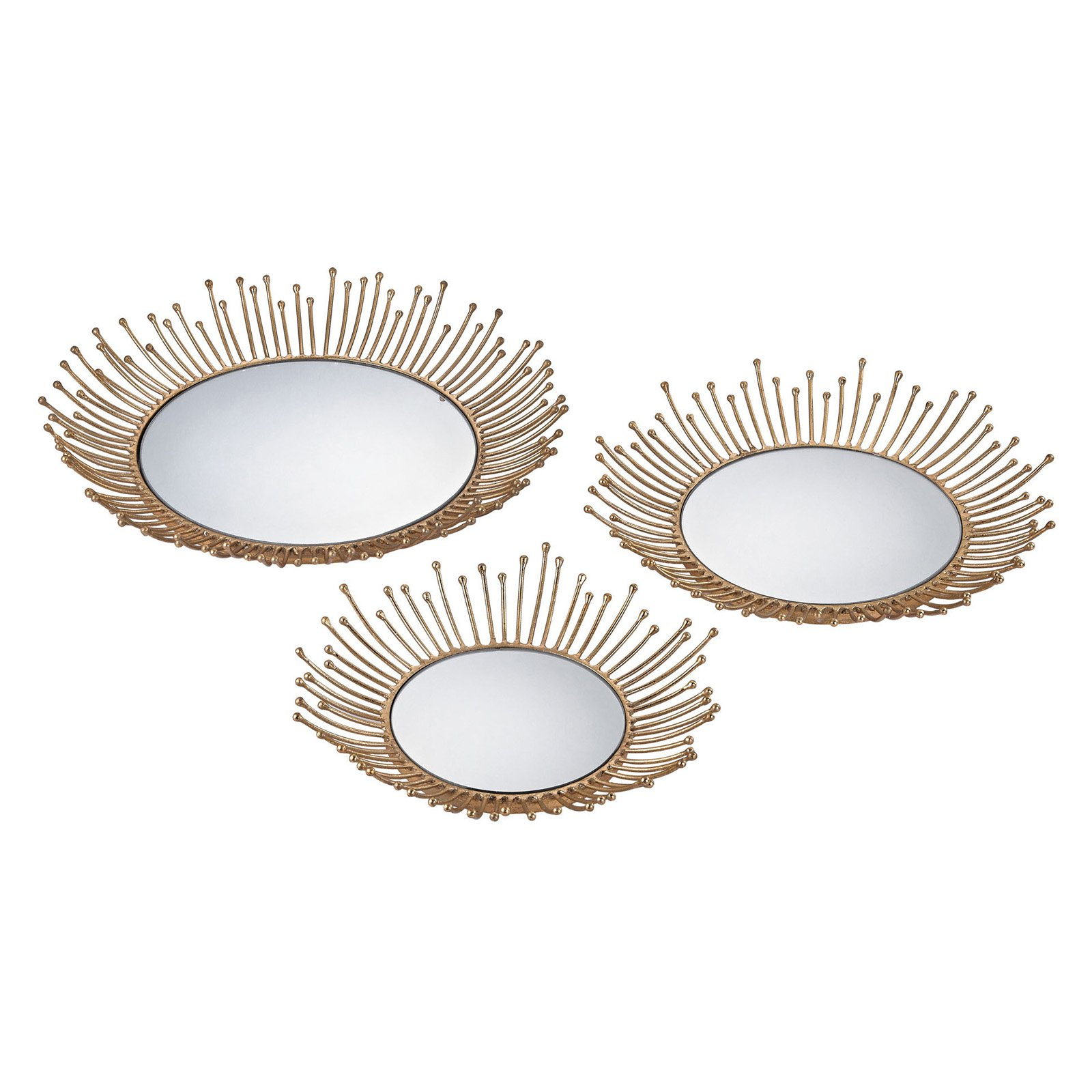Sterling Puddle Decorative Tray - Set of 3