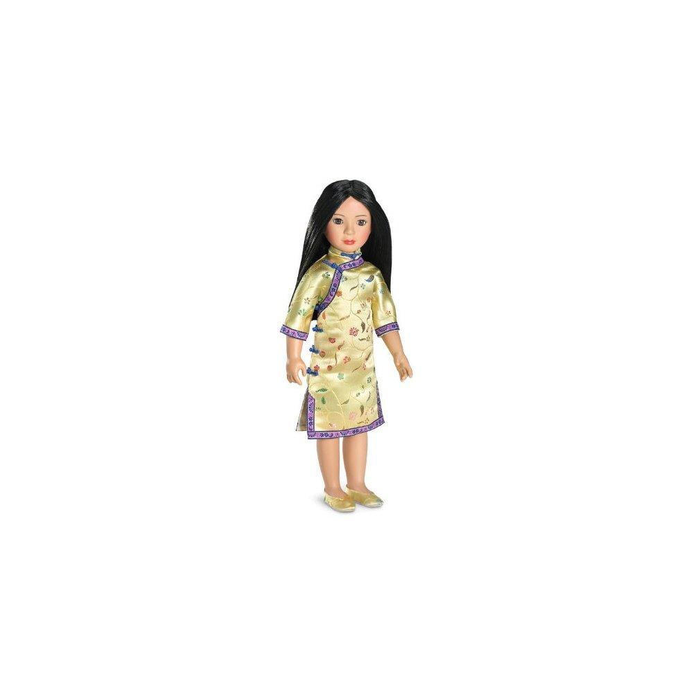 Carpatina Ana Ming Black Hair 18'' Slim Vinyl Asian Doll