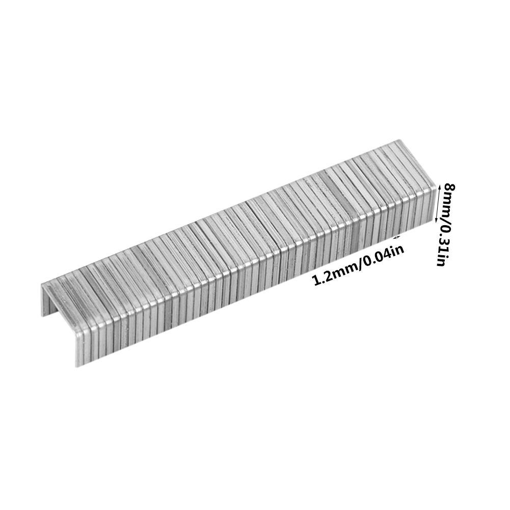 Yosoo 1000pcs Stainless Steel Staples Nails Fasteners for Handheld Staple Gun Stapler Stapler Nail - Walmart.com