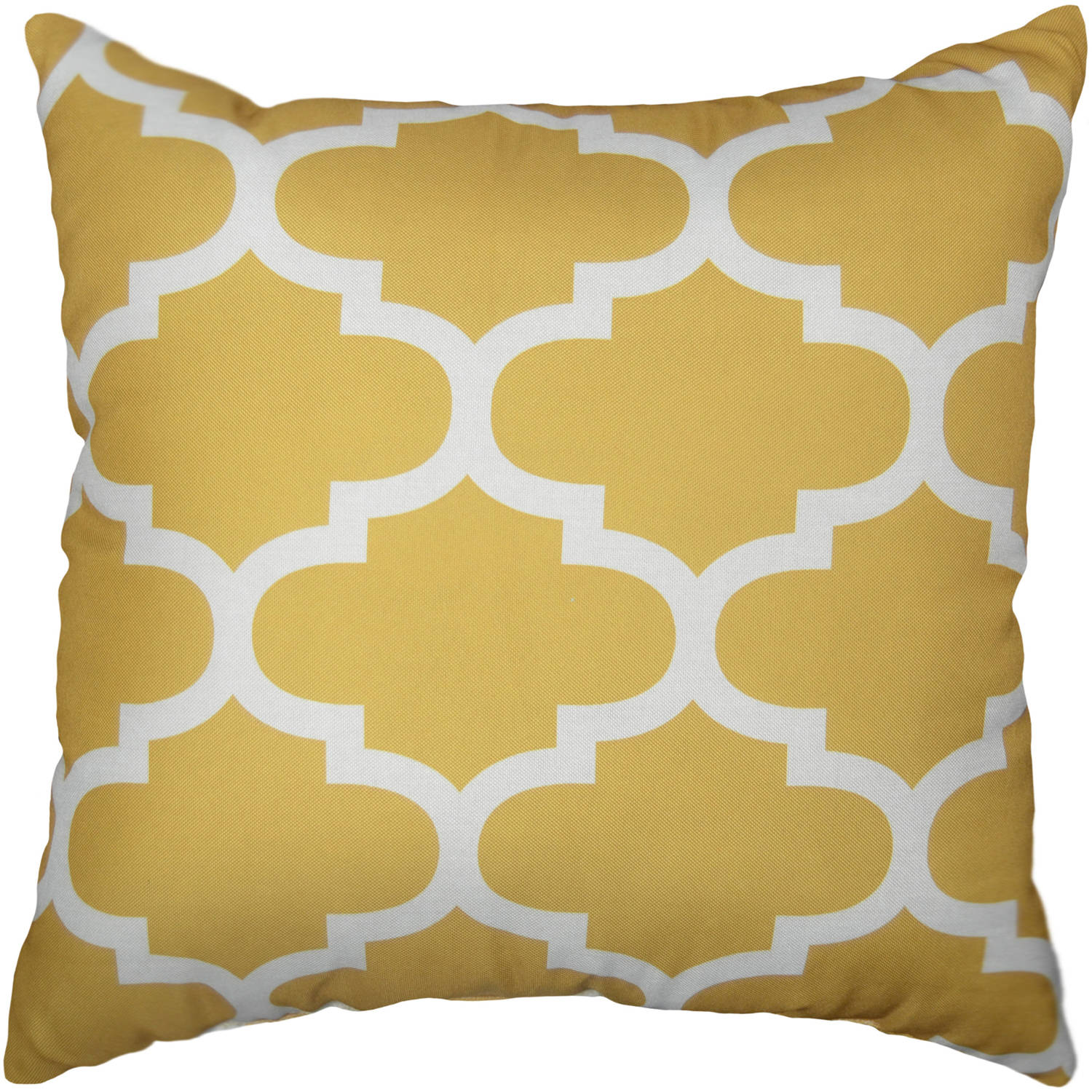 mainstays fretwork decorative pillow walmartcom - Gold Decorative Pillows