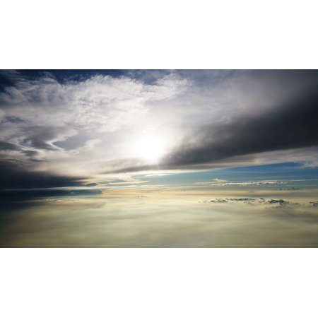 LAMINATED POSTER Nature Hd Wallpaper Clouds Cloudscape Outdoors Poster 24x16 Adhesive Decal - Wallpaper Halloween Hd