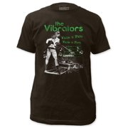 The Vibrators Punk Rock Band Whips 'N' Furs Adult Fitted Jersey T-Shirt Tee