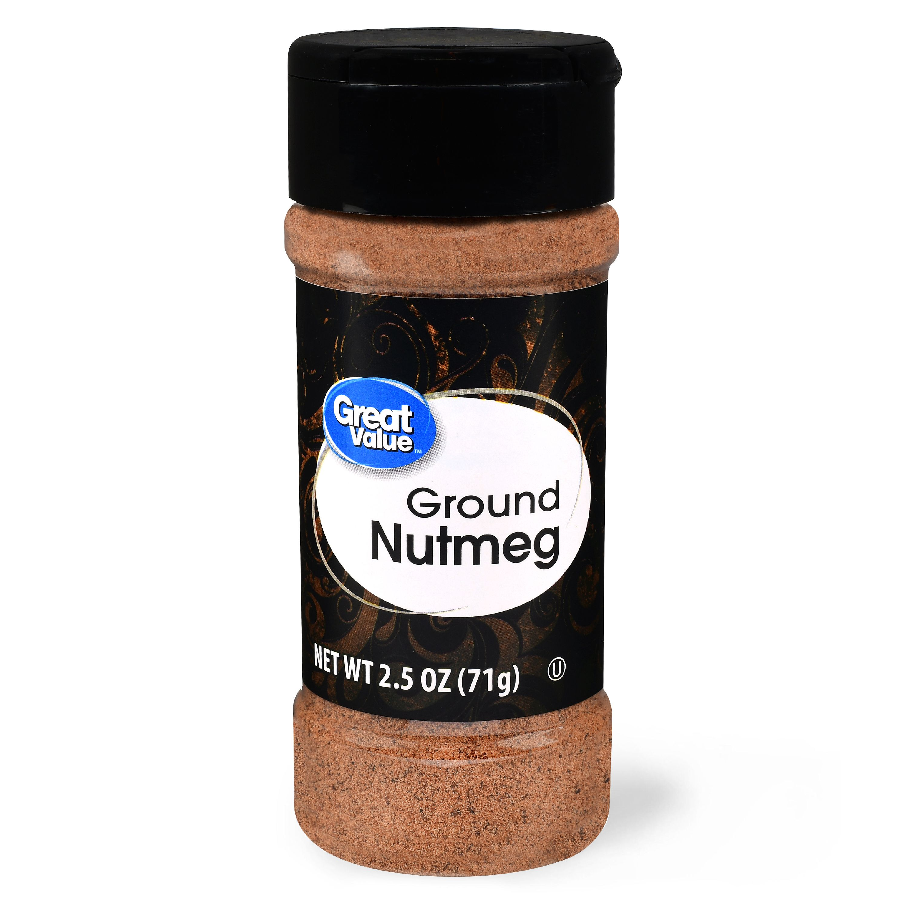 (2 Pack) Great Value Ground Nutmeg, 2.5 oz