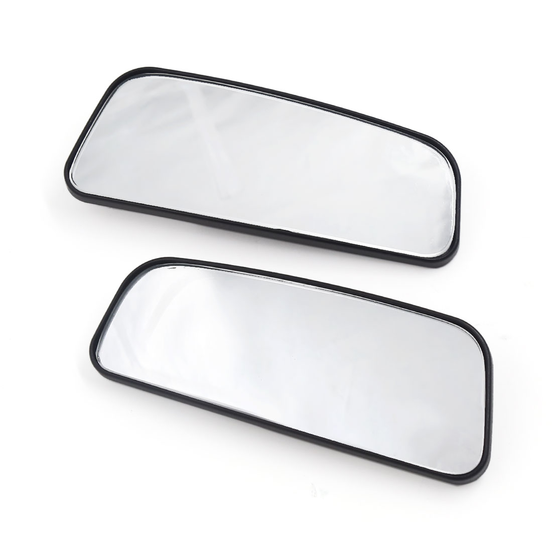 Self-adhesive Adjustable Rectangle Shaped Car Blind Spot Rearview Mirror 2pcs