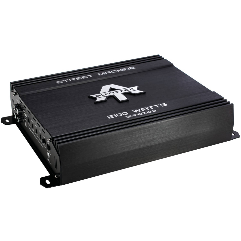 Autotek SMA2100.2 Street Machine 2-Channel Class AB Amp, 2,100 Watts