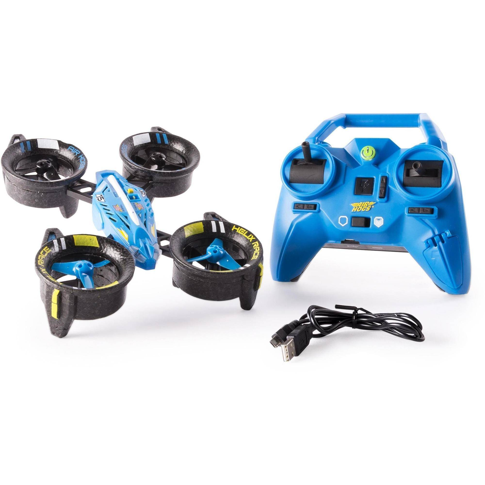 Air Hogs, Helix Race Drone, 2.4 GHZ, Blue RC Vehicle