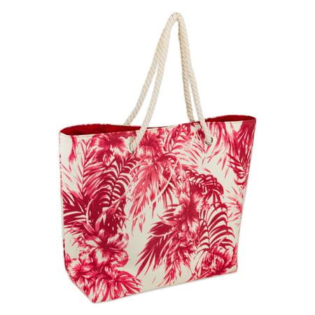 3fb22067f22d DII Palm Print Beach Bag 15x20x5.5