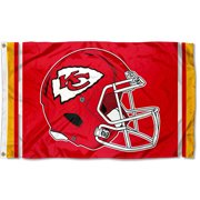 KC Chiefs New Helmet 3x5 Foot Flag