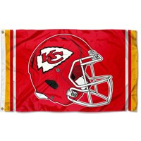 KC Chiefs New Helmet 3x5 Foot Flag