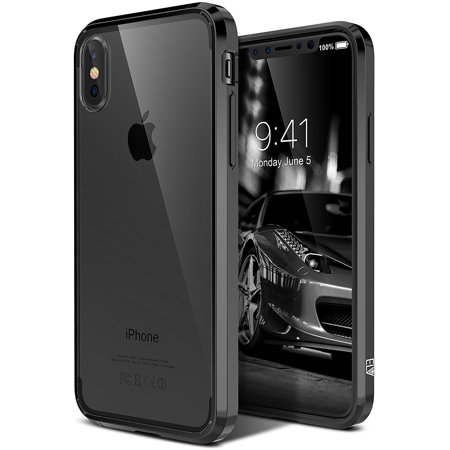 superior quality 2ffc4 df458 iPhone X Case, ELV iPhone X Clear Case [Scratch Resistant] Transparent  Clear Slim Full Body Shockproof Protective Case Cover for Apple iPhone X -  ...