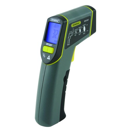 General Tools IRT207 Heat Seeker 8:1 Mid-Range Infrared Thermometer