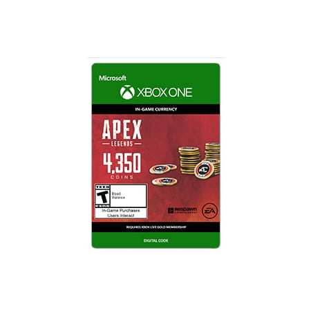 APEX Legends: 4350 Coins, Electronic Arts, Xbox, [Digital Download] (Alex Games)