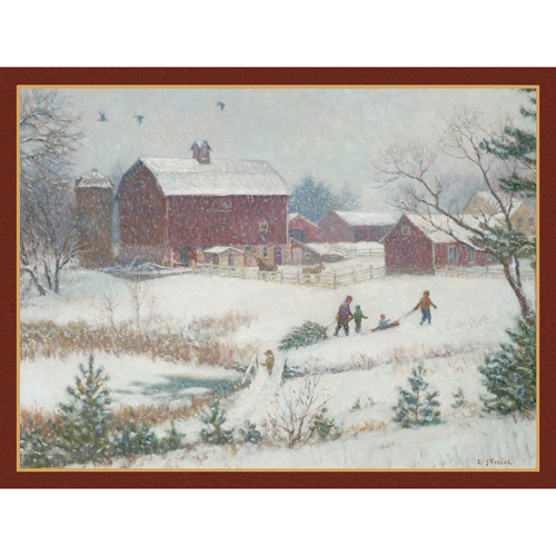 """Lang """"Christmas Tradition"""" Deluxe Boxed Christmas Cards"""