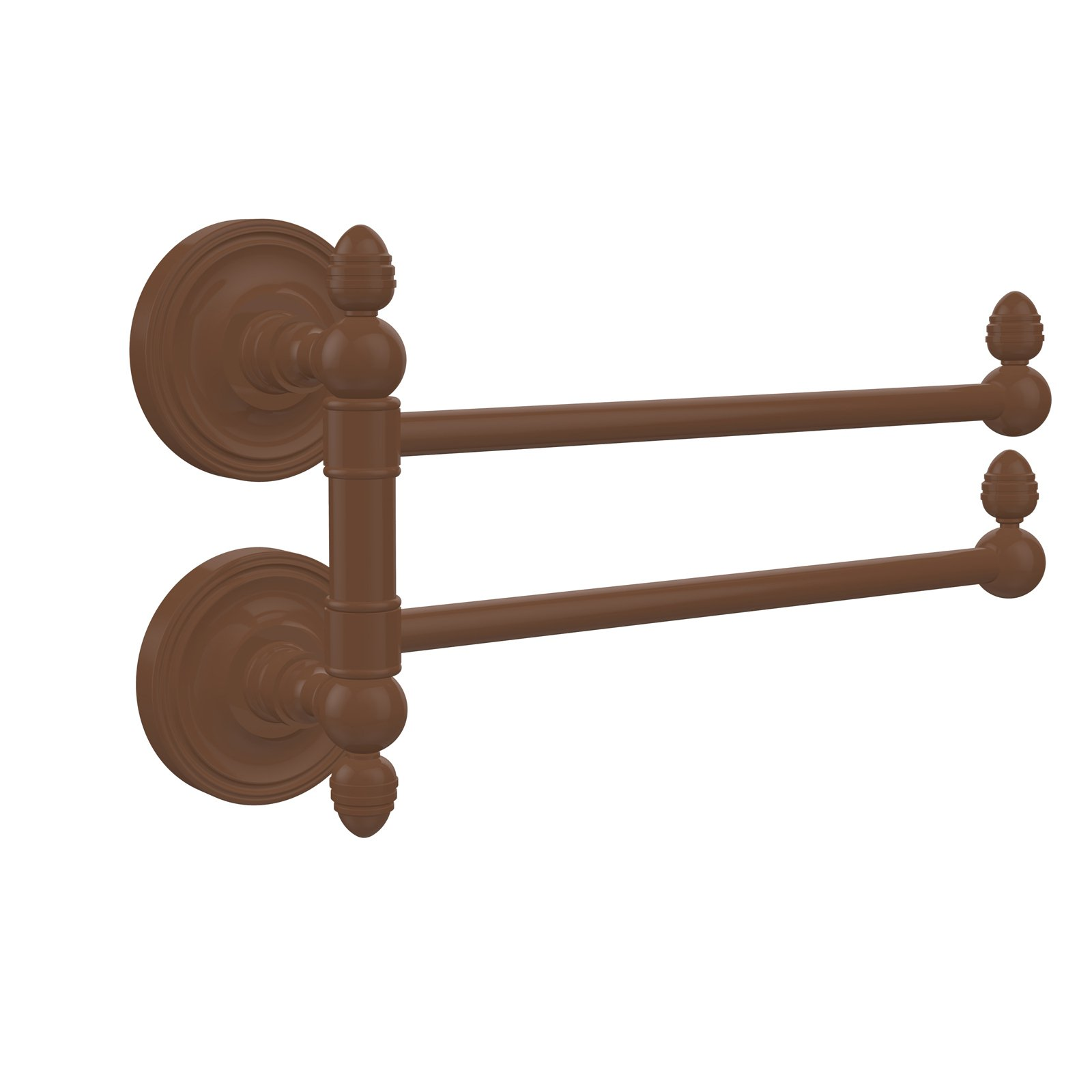 Allied Brass Prestige Regal 2 Swing Arm Towel Rail