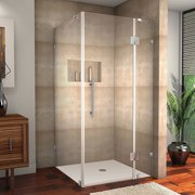 Aston Avalux 32'' x 36'' x 72'' Completely Frameless Hinged Shower Enclosure