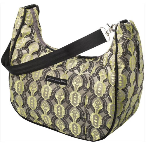 Petunia Pickle Bottom Brocade Touring Tote - Spiced Crimson Roll