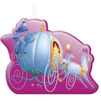Cinderella Mini Molded Candle Set, Purple