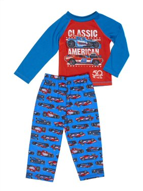 Hot Wheels American Classic Toddler Pajamas 2T