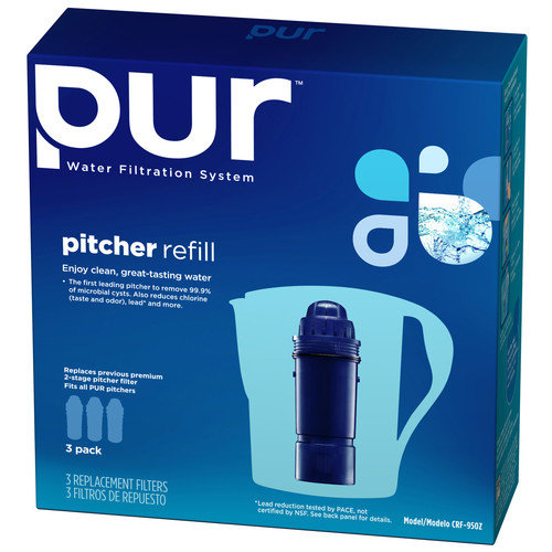 Pur Replacement Pitcher Filter (Set of 3)