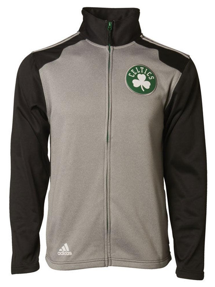 Boston Celtics Tip Off Adidas Mens Full-Zip Jacket by