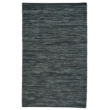 Capel - Zions View - Flat Woven Rectangle Rug - Dark Ash - 4' x