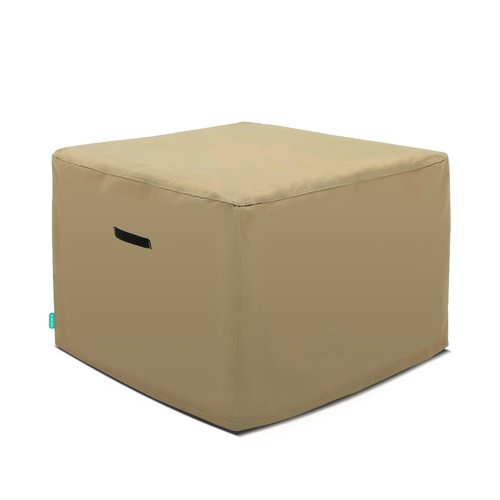 Symple Stuff Outdoor Patio Ottoman Cover