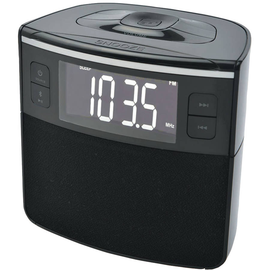 Supersonic Dual Alarm Clock Radio   Walmart.com