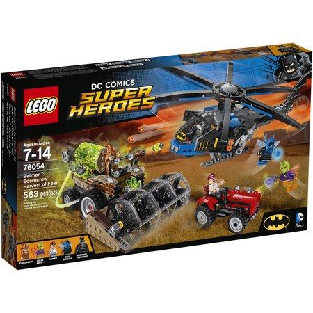 Lego Dc Comics Super Heroes Batman  Scarecrow Harvest Of Fear  76054