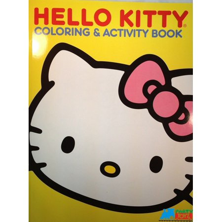 Hello Kitty Art (Hello Kitty 60 pg. Coloring and Activity Book - Yellow )
