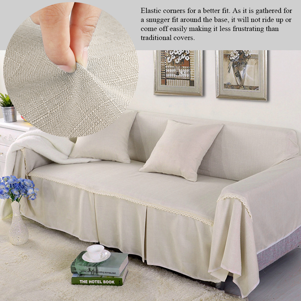 WALFRONT Couch Cover Slipcover Comfortable Sofa Couch Cover Chair Throw Mat Furniture Protector Slipcover For 1 2 3 4 Cushions Sofa Sofa Cover - Walmart.com - Walmart.com