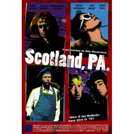 Scotland Costume For Kids (Scotland, PA POSTER (27x40) (2001) (Style)