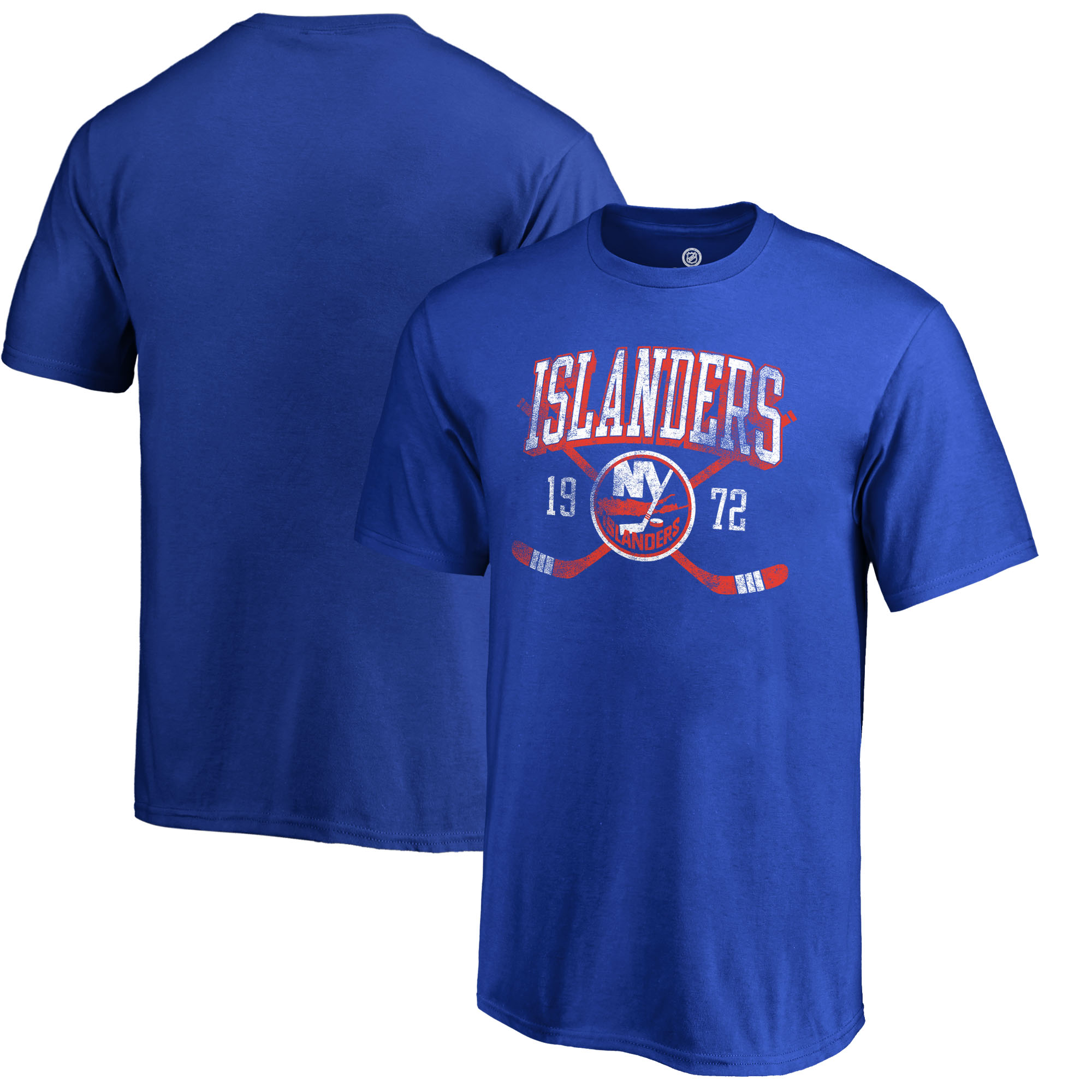 New York Islanders Fanatics Branded Youth Vintage Collection Line Shift T-Shirt - Royal