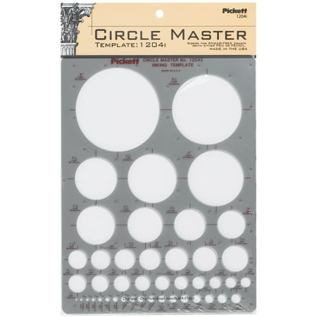 Pickett Circle Master Inking Template