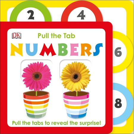 Pull the Tab: Numbers : Pull the Tab to Reveal the Surprise!