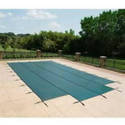 Water Warden Mesh Safety Pool Cover With Center End Step