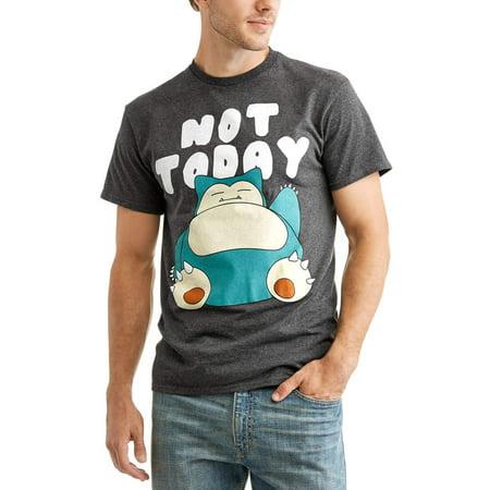 Pokemon T Shirt (Pokemon Snorlax Not Today)