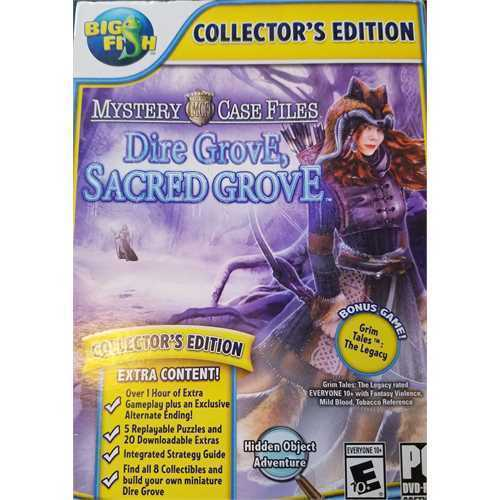 Refurbished Big Fish Games Mystery Case Files: Dire Grove, Sacred Grove Collector's Edition