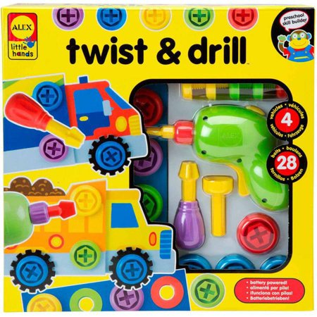 ALEX Toys Early Learning Twist and Drill
