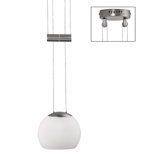 Dainolite 1 Light Adjustable Oval Pendant
