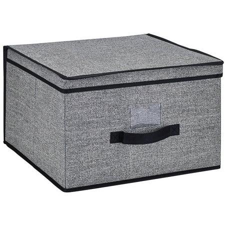 Simplify Storage Box, Jumbo, Black ()