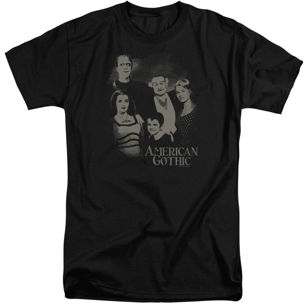 The Munsters American Gothic Mens Big and Tall Shirt