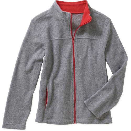 Faded Glory Boys' Fleece Jacket - Walmart.com