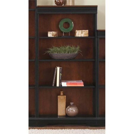 Liberty Furniture St. Ives Executive 4 Shelf Bookcase in (Liberty Chocolate)