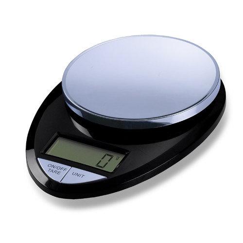 EatSmart Precision Pro Digital Kitchen Scale in Black / Chrome