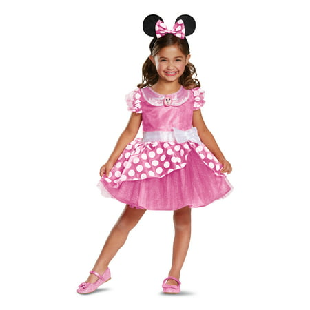 Pink Minnie Mouse Classic Toddler Costume
