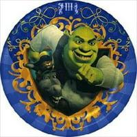 Shrek The Third Small Paper Plates (8ct)