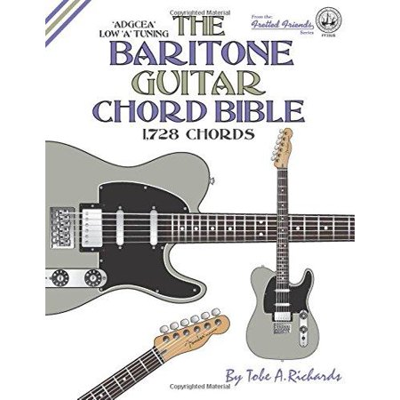 The Baritone Guitar Chord Bible: Low a Tuning 1,728 Chords - Walmart.com
