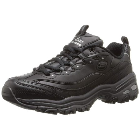 Skechers Womens D'lites Low Top Lace Up Fashion Sneakers ()